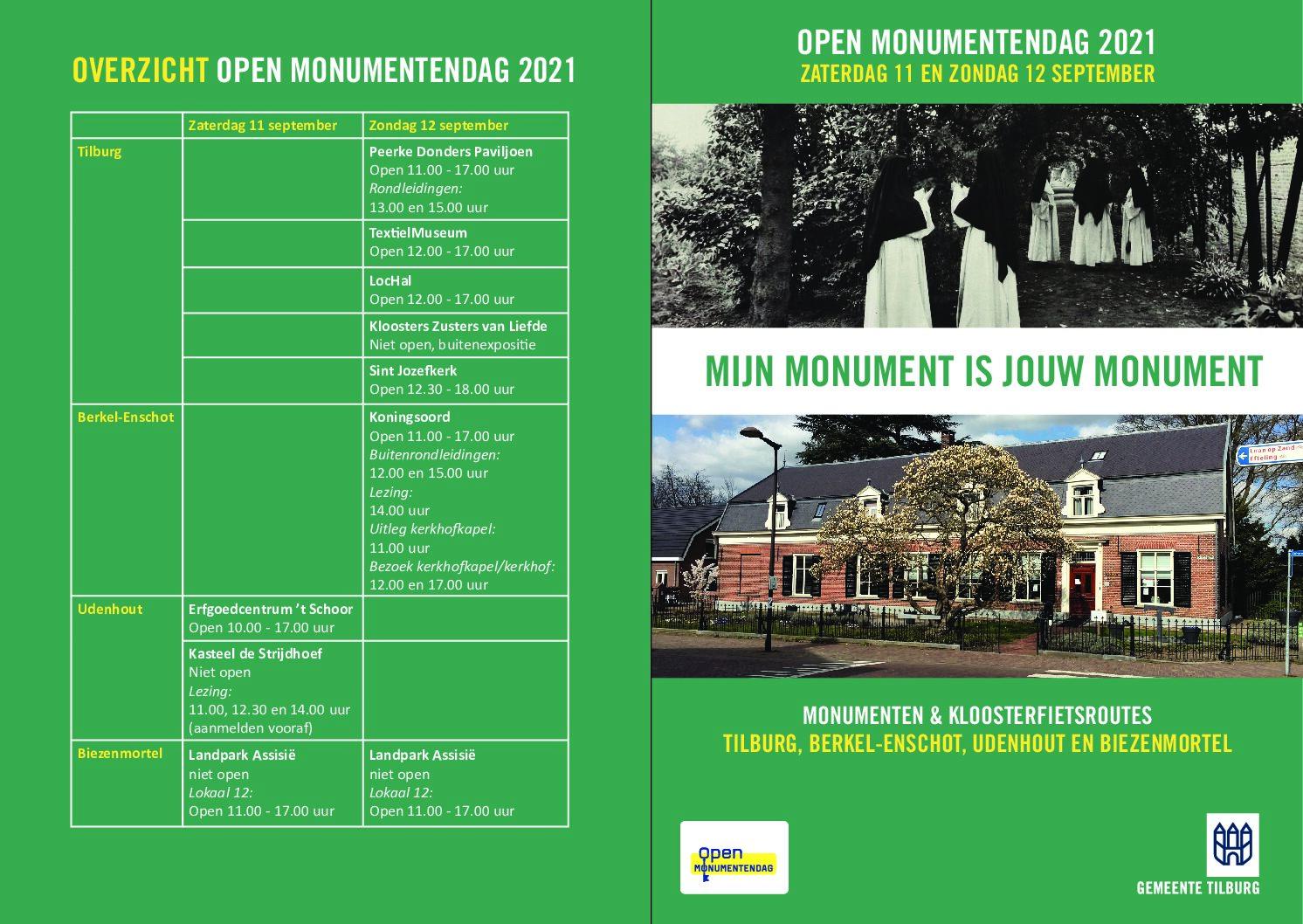 Monumenten & Kloosterfietsroutes